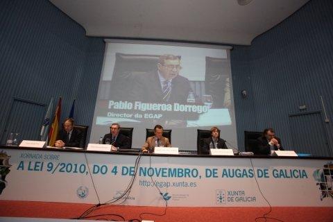 Inauguración. - Xornada sobre a Lei 9/2010, do 4 de novembro, de Augas de Galicia